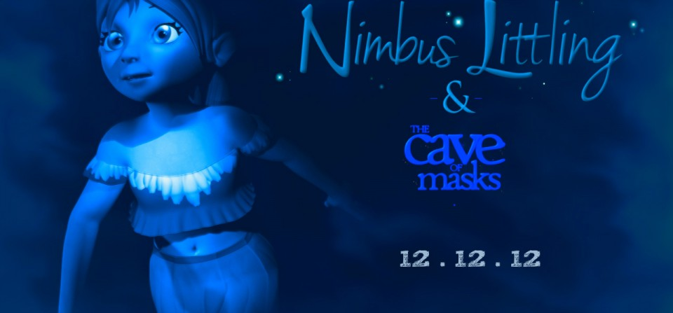 Nimbus Littling's New Book…Filled with Masks and a Cave!